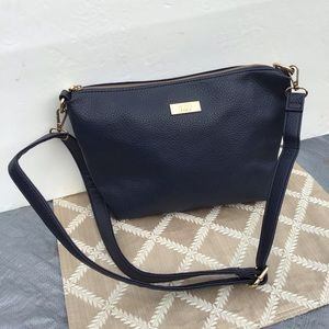 BCBG  Navy Blue Crossbody/Shoulder Bag